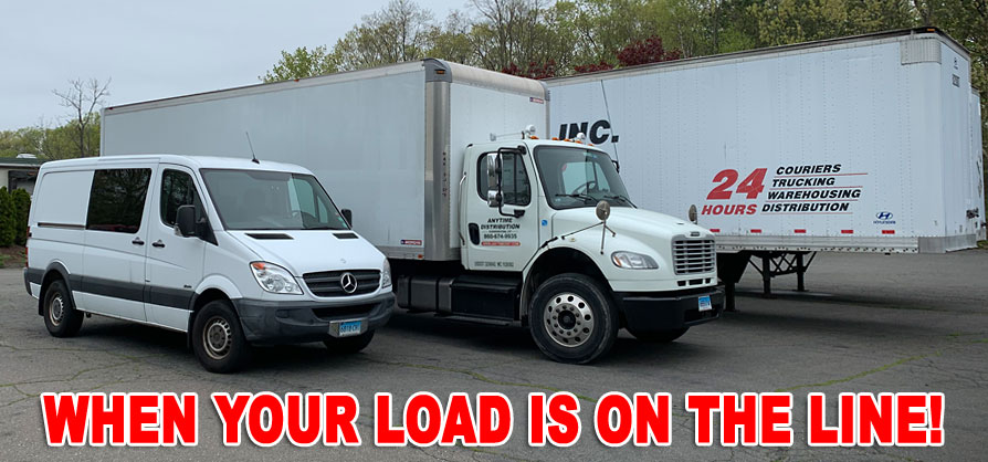 When Your Load is On The Line, Count on Anytime Distribution